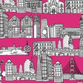 San Francisco pink