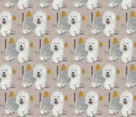 Sancho fabric by sheepiedoodles on Spoonflower - custom fabric