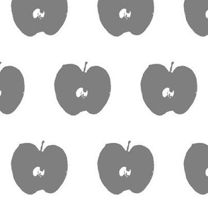 Grey Apple Stamp