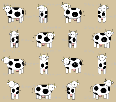 The cows are watching you.