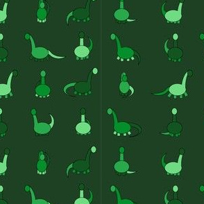 more green dinosaurs!