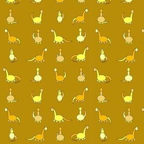 yellow dinosaurs