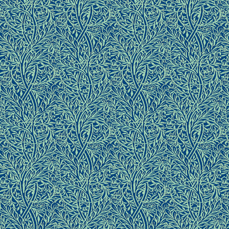 Peacock Vine fabric by amyvail on Spoonflower - custom fabric