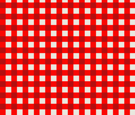ekko_gingham_red fabric by holli_zollinger on Spoonflower - custom fabric