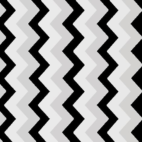 Chevron_Fade fabric by elvishthistle on Spoonflower - custom fabric