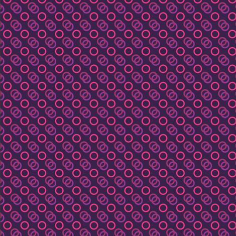 Purple Looped Pink fabric by hrhusagi on Spoonflower - custom fabric