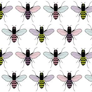 Pop Art Bees