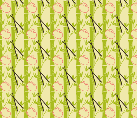 Dim sum fabric by nhr on Spoonflower - custom fabric