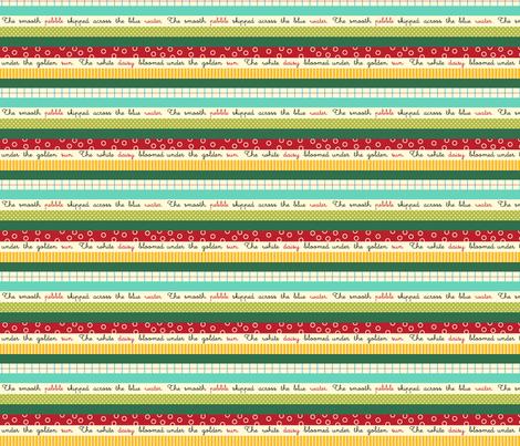 Line Parade fabric by snowflower on Spoonflower - custom fabric