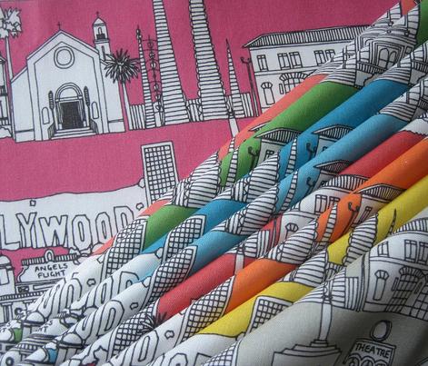 Los Angeles pink
