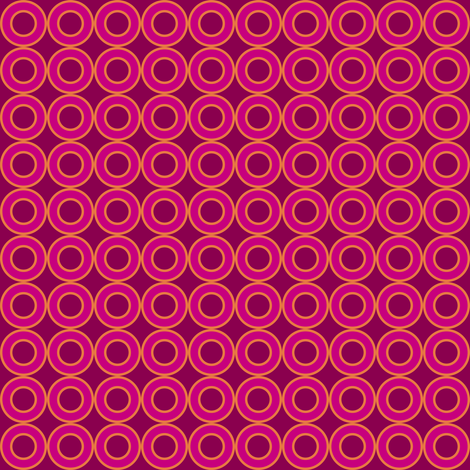 Mod Fruity Circle Link fabric by smuk on Spoonflower - custom fabric
