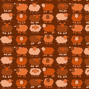 orange sheeps