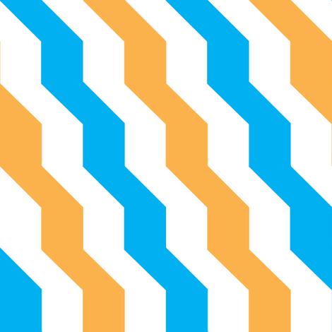 orange-blue fabric by dana_queen on Spoonflower - custom fabric