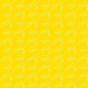 aventuras amarillo-blanco