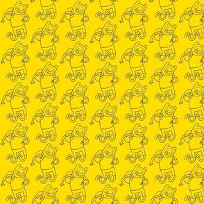 aventuras amarillo-negro