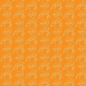 aventuras naranja-blanco