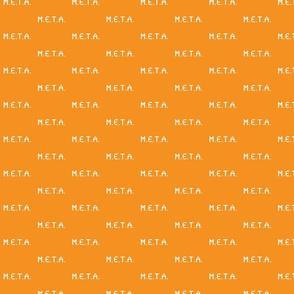 meta naranja-blanco