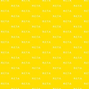 meta amarillo-blanco