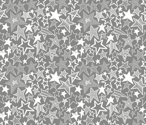 Rrstars_christmas_half_fat_quarter_white_grey__cool9__shop_preview