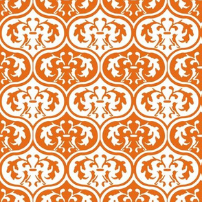 Moroccan Leaves -Orange