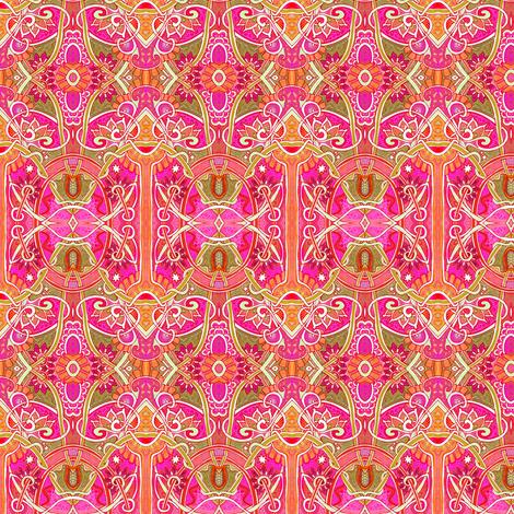 Screaming Red Romantics fabric by edsel2084 on Spoonflower - custom fabric