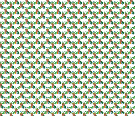 Frog party 1 fabric by linsart on Spoonflower - custom fabric