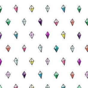 Jewels and Diamonds //Rainbow