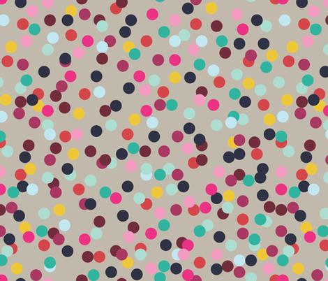 Confetti (Grey) fabric by michellenilson on Spoonflower - custom fabric