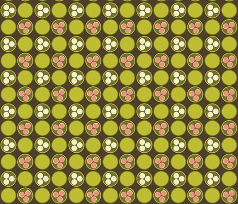 Dim Sum Dots fabric by hmooreart on Spoonflower - custom fabric