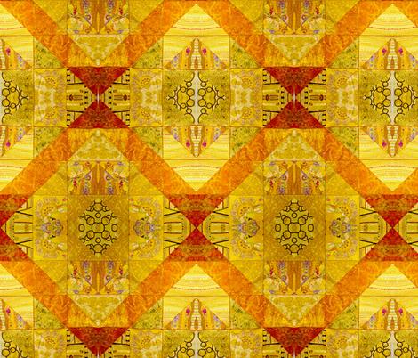 Triangulations fabric by frances_hollidayalford on Spoonflower - custom fabric