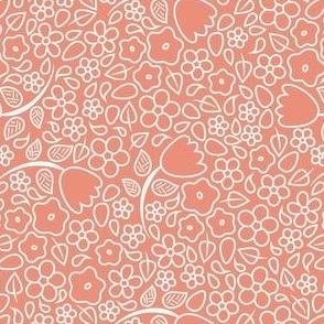 Pink Flower Scatter