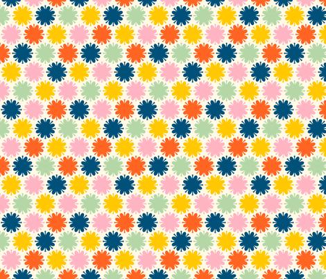 Fleurir: Happy fabric by nadiahassan on Spoonflower - custom fabric