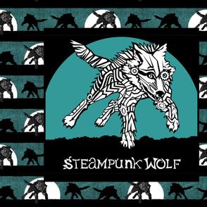 CUSTOM BANNER - Steampunk Wolf Logo