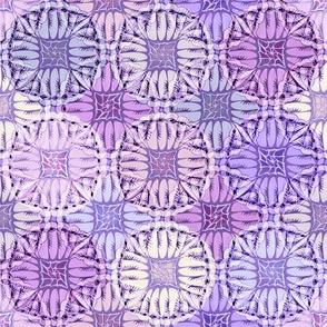 patchwork caravan purples