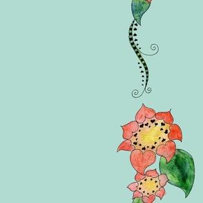 Heart Sunflower