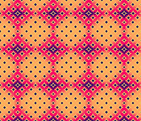 Evil Geo Eye A fabric by veesanchez on Spoonflower - custom fabric
