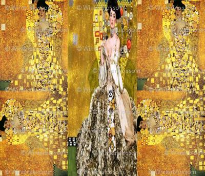 Klimt Collage Adele