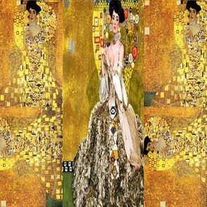Klimt Collage Adele