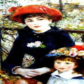 Renoir - Mother and Daughter