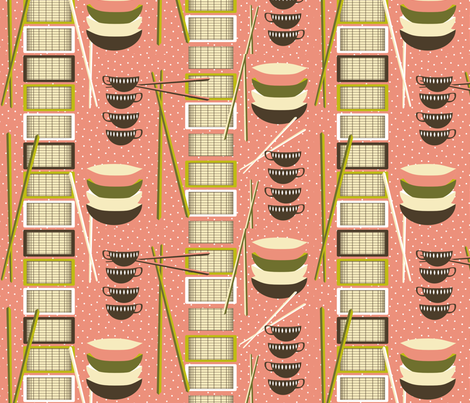 DimSumFeast fabric by mrshervi on Spoonflower - custom fabric