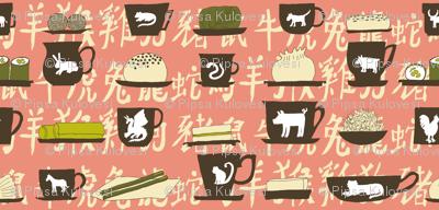 Zodiac tea tasting