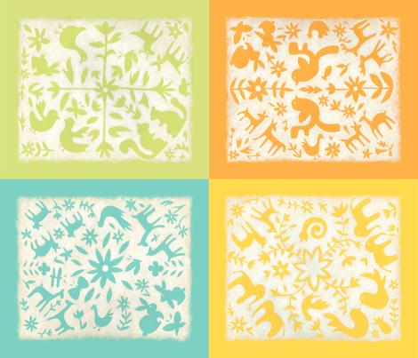 otomi blocks fabric by chariklia_zarris on Spoonflower - custom fabric