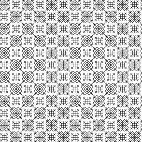 geometric blackwork