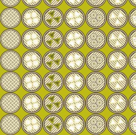 Cantonese Dim Sum fabric by vannina on Spoonflower - custom fabric