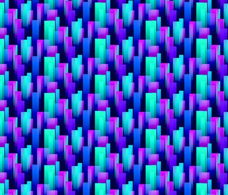 Cool Color Streaks fabric by will_la_puerta on Spoonflower - custom fabric