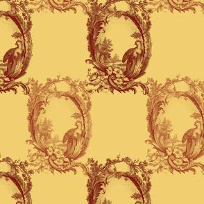 Toile de Lally! ~ Golden Harvest
