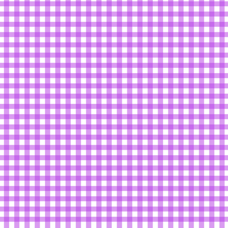 Purple Gingham fabric by puggy_bubbles on Spoonflower - custom fabric