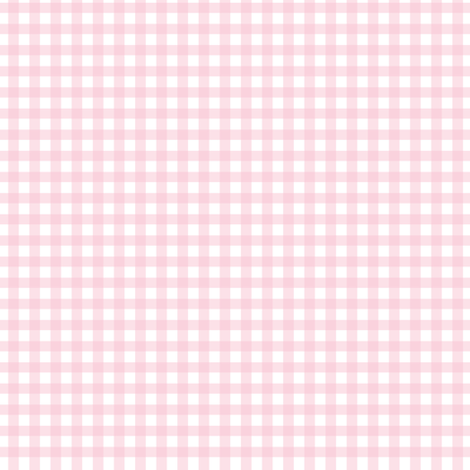 Pink Gingham fabric by puggy_bubbles on Spoonflower - custom fabric