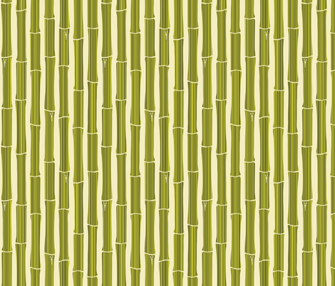 Bamboo Thicket fabric by audsbodkin on Spoonflower - custom fabric