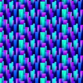 Cool Color Streaks - Rough